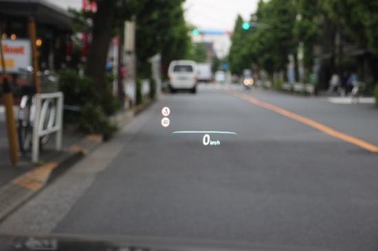 フロントガラス照射型ヘッドアップディスプレイ